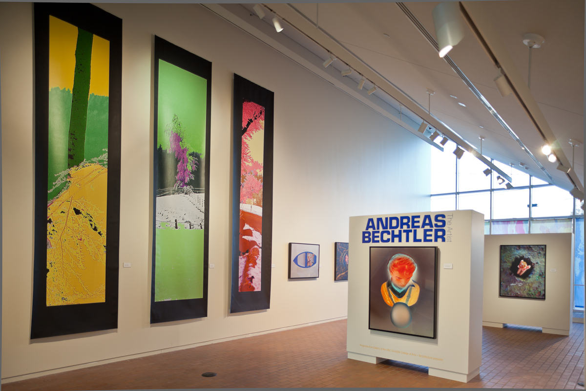 Andreas Bechtler, Projective Eye Gallery, UNCC Exhibition at Bechtler.com